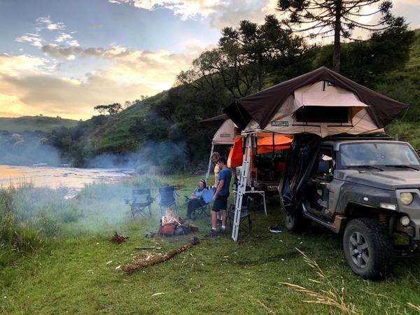 Categoria Camping terá os pernoites no meio da trilha